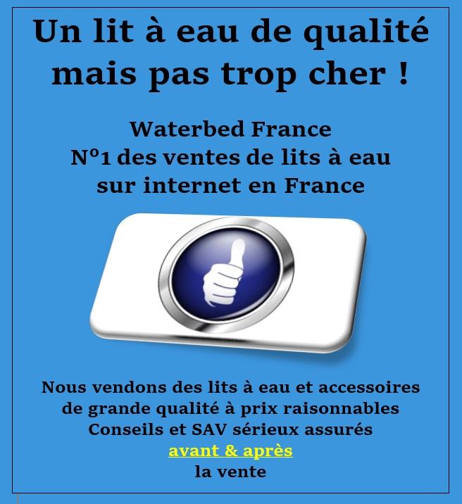 Waterbed France, lits a eau et accessoires pour lits a eau