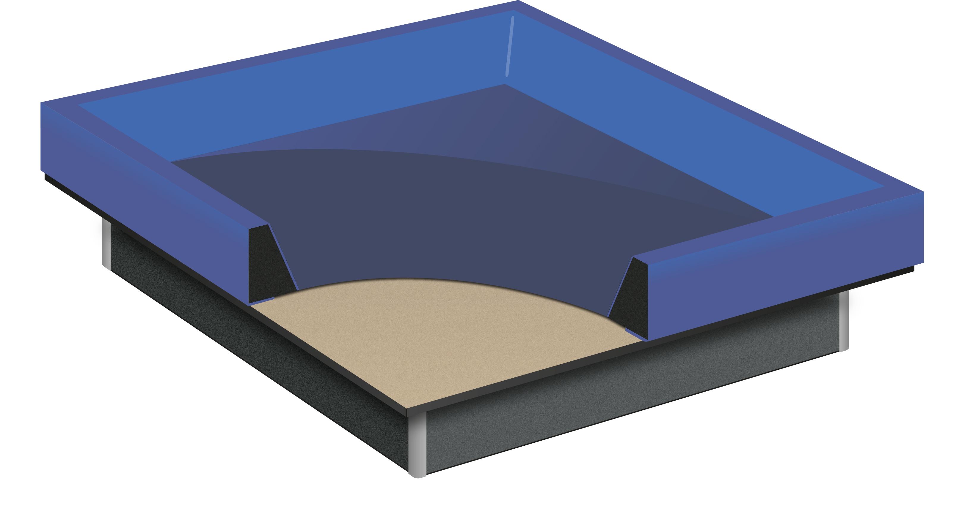Liner de sécurité pour lit à eau softside basic by Waterbed France