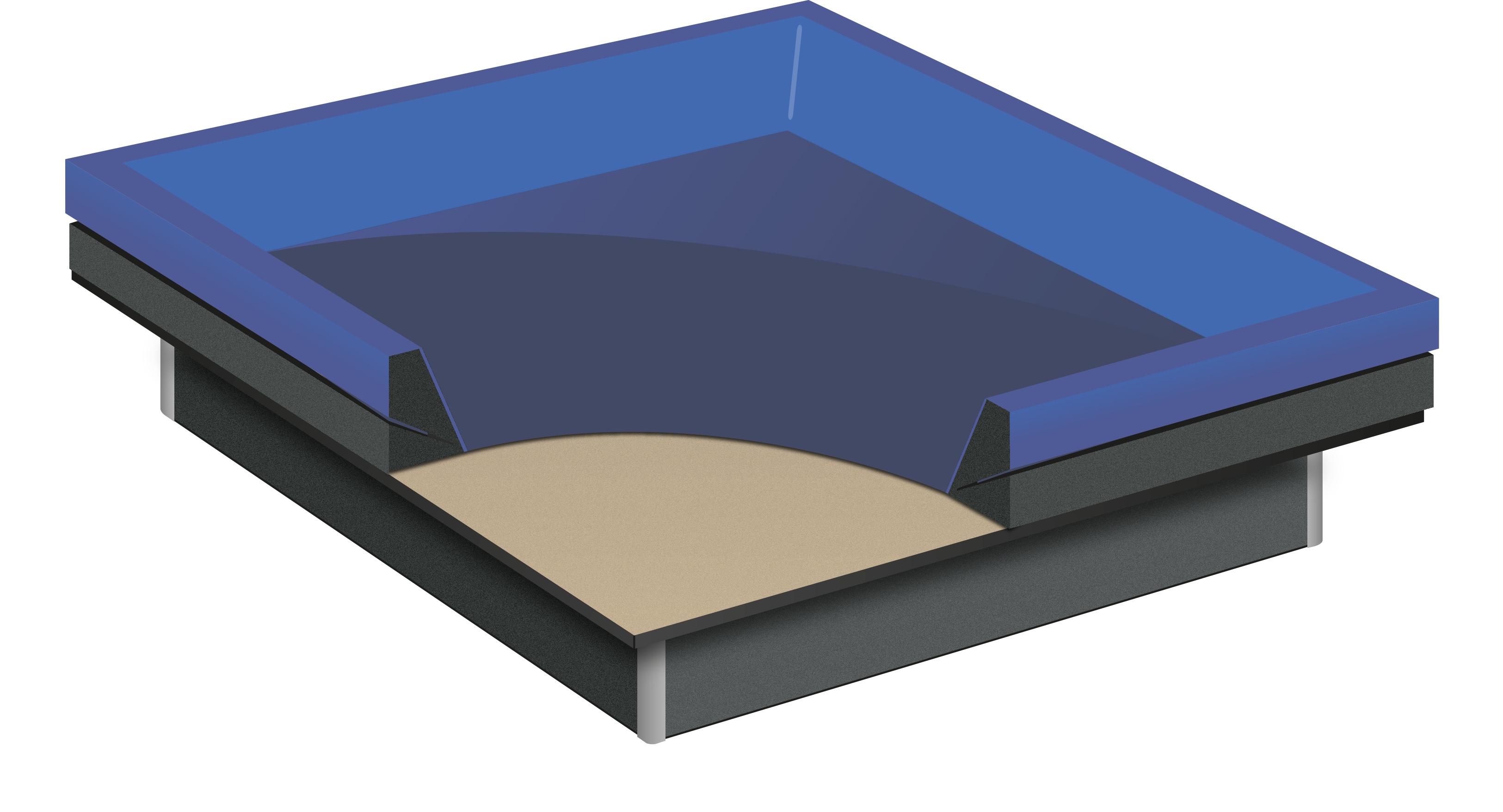 Liner de sécurité pour lit à eau softside spli by Waterbed France