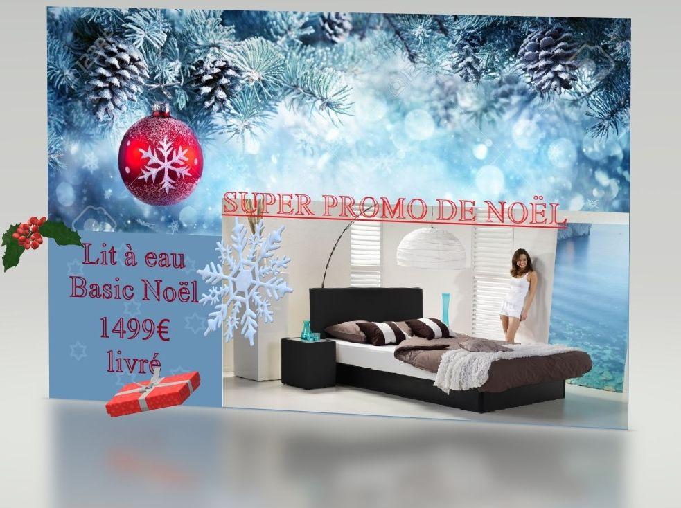 Lit à eau Premium Confort Dual Super Promo Noël