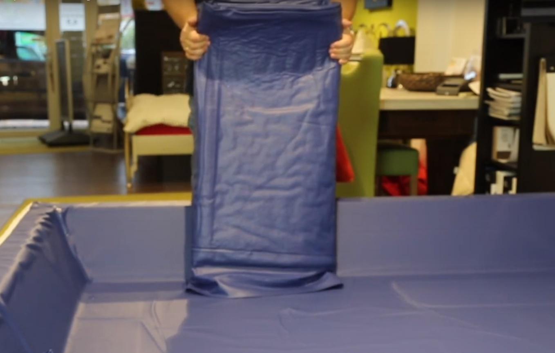 Vidanger son lit à eau à l'aide de la pompe professionnelle, location de pompe pour waterbed