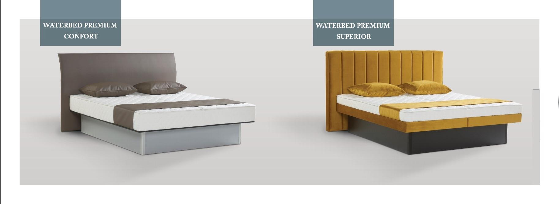 Lit à eau Waterbed Pemium Confort mono ou dual NOUVEAUTÉ 2017