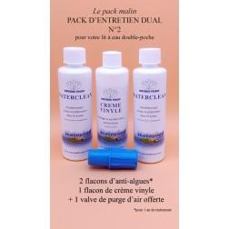 Pack entretien dual n°2 pour lit a eau double poche