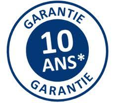 10 ans de garantie sur les soudures
