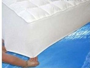 Housse coutil pour lit a eau hardside