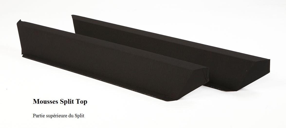 Barres en mousse Split Top pour lit à eau softside