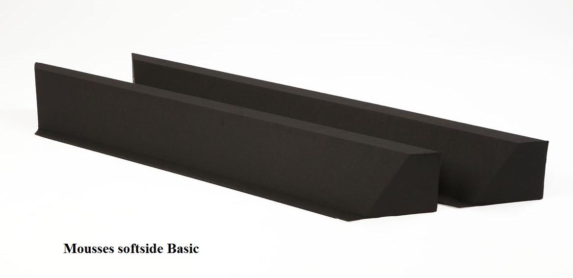 Mousses softside Basic pour lit à eau