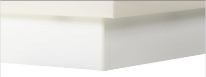 Socle blanc pour lit à eau Waterbed France