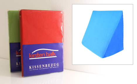 Keilkissen référence Double Jersey Taie d/'oreiller pour keilkissen en 40 Couleurs